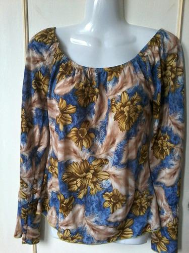blusa de seda fría