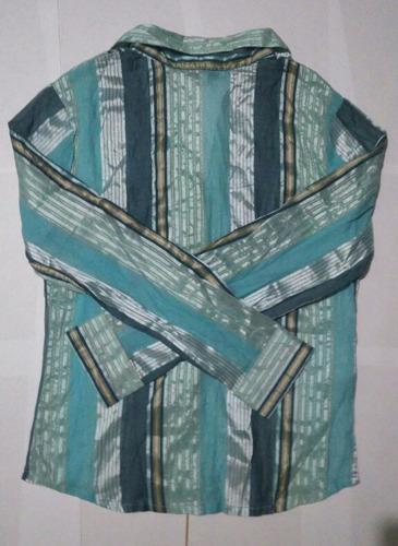 blusa de seda italica talla m