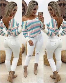 602ab6e3a Blusa De Trico Chic Para Inverno - Calçados, Roupas e Bolsas no ...