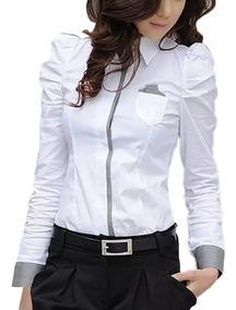 Blusa De Vestir Blanca