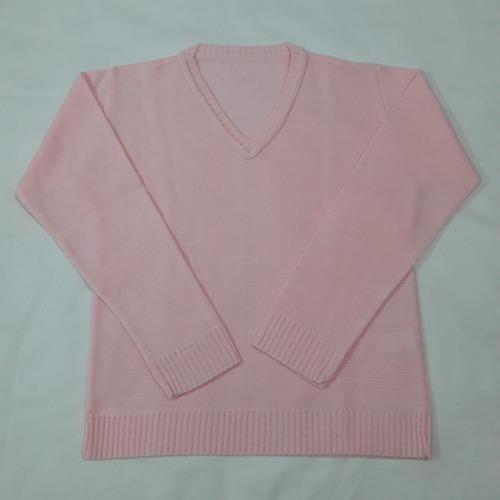 blusa decote v clássica agasalho  meninos e meninas ref. 016