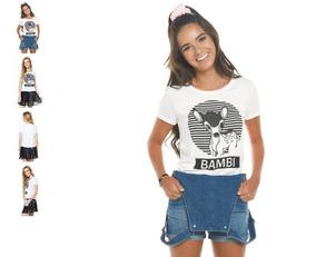 d42fbe90a2 Blusa Personagens Disney no Mercado Livre Brasil