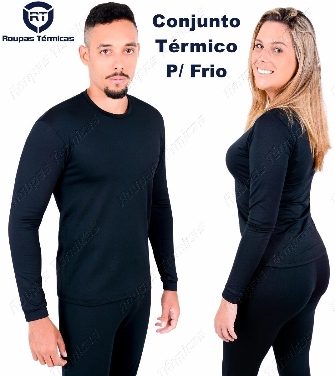 449a0bab7 Blusa E Calça Segunda Pele Térmica Frio Intenso Profissional - R ...