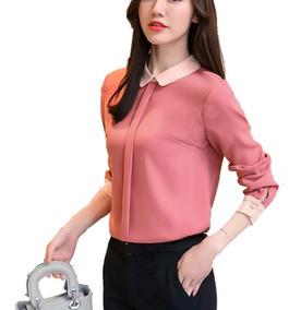 Blusa Elegante De Vestir Oficina Para Dama