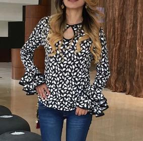 2c48441a55 Blusas De Moda Dama Mujer Modernas Lindas Manda Larga Corta - Ropa y ...
