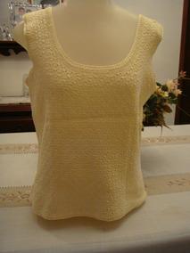 caa27cbe78 Blusa Em Croche Com Aplicacao Usado no Mercado Livre Brasil