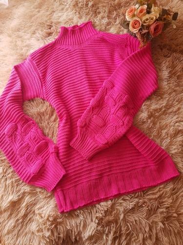 blusa em lã