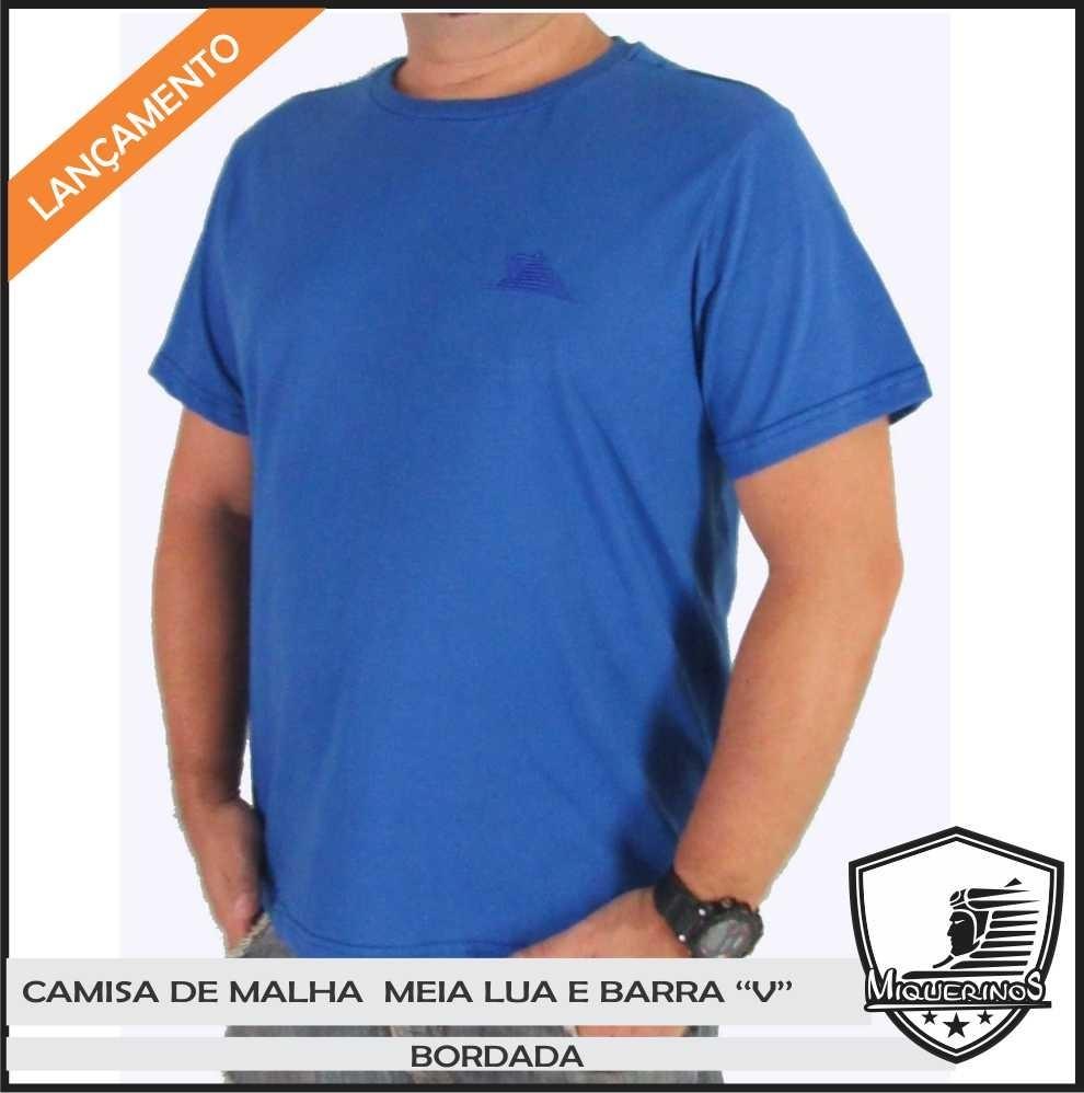 camiseta básica lisa malha 100% algodão 30.1 cores variadas. Carregando zoom . c09599386d7a3