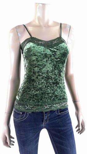 blusa en velour talla s-m strech nueva e importada