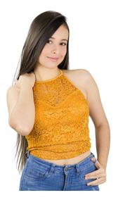 diseño popular claro y distintivo profesional mejor calificado Blusa Encaje Stretch Damas Holiday Juveniles Detal