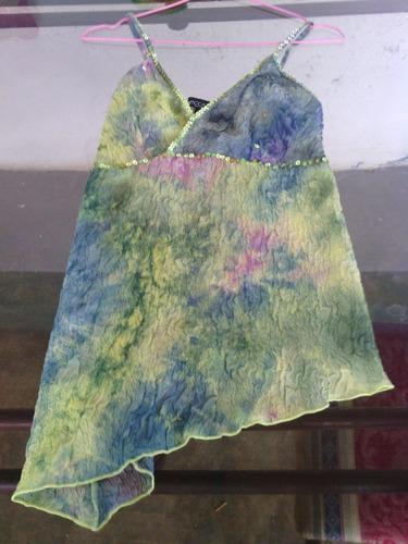 blusa estampada talla unica