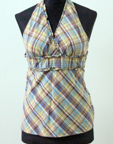 blusa estilo 90s a cuadrille byer california - envios