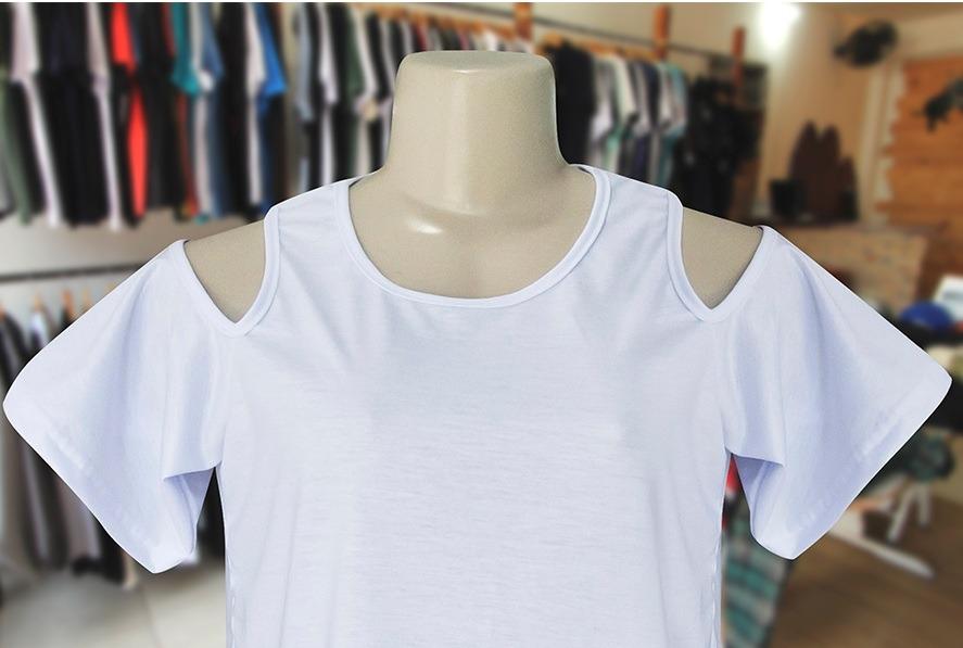 86734bf5e1275 blusa feminina 100% poliester- branca -lote 15 peças. Carregando zoom.