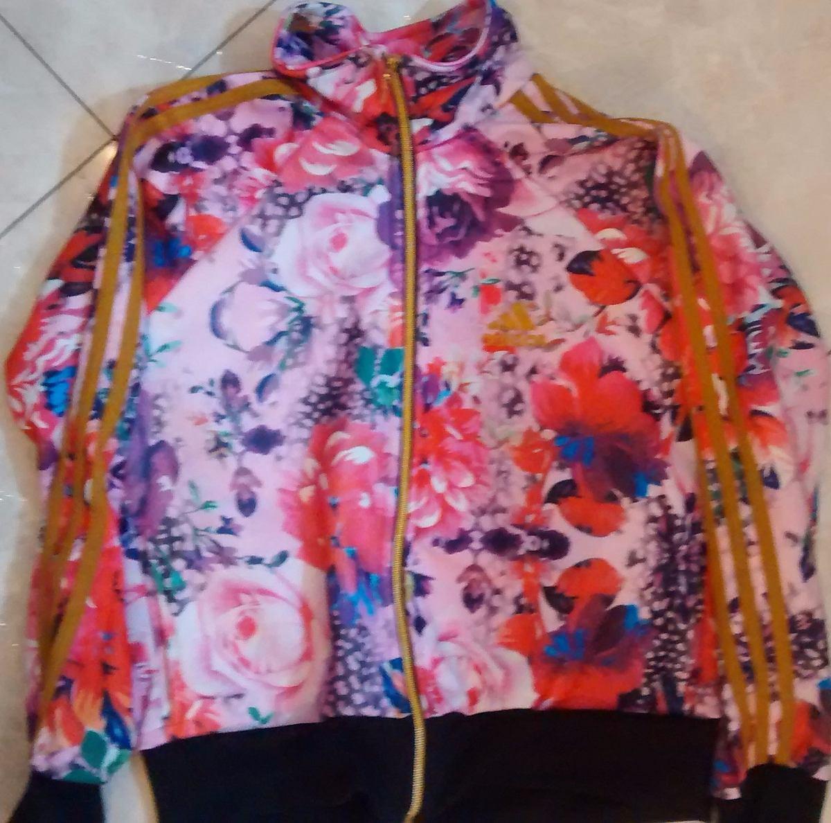 d4418076caa blusa feminina adidas florida com zíper. Carregando zoom.