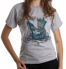 0be9403419 Guardioes Da Galaxia Fita K7 - Camisetas e Blusas no Mercado Livre Brasil