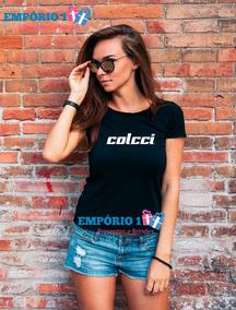 74820f940 Blusa Baby Look Feminina Colcci Sem Mangas Feminino - Camisetas e Blusas no  Mercado Livre Brasil