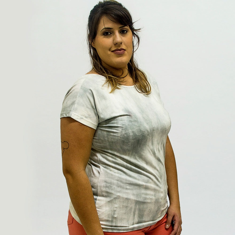 65c99d62d blusa feminina básica mescla roupa feminina plus size 56+. Carregando zoom.