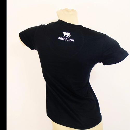 blusa feminina casual pac man - predador wear