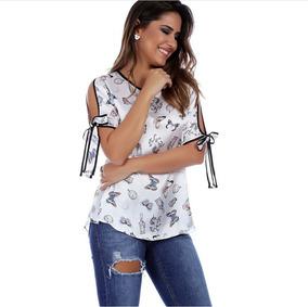 8da7e659b5 Blusa De Cetim - Blusas Feminino no Mercado Livre Brasil