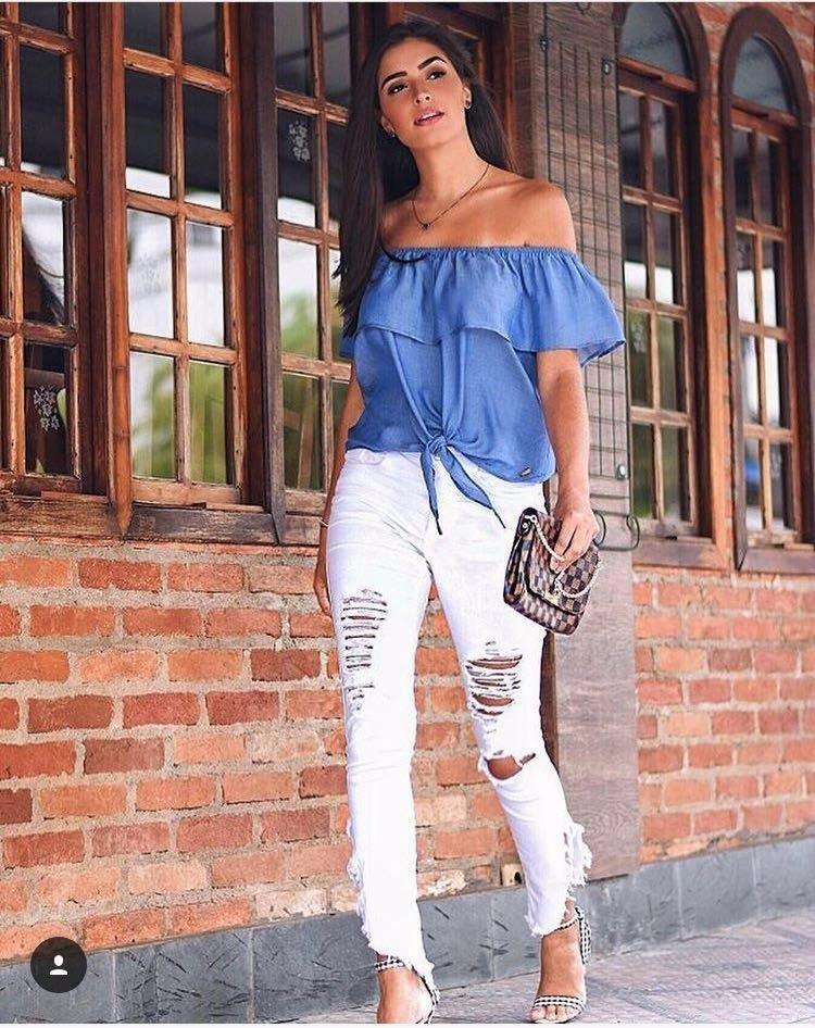41aa996a96 blusa feminina ciganinha gipsy com babado viscose cigana. Carregando zoom.