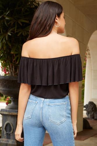 blusa feminina cropped ciganinha ombro a ombro