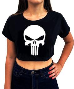 d9ad7394d O Justiceiro Pc - Camisetas e Blusas Cropped para Feminino no ...