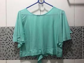 b0a88ab368 Blusa Laços - Camisetas e Blusas Cropped no Mercado Livre Brasil
