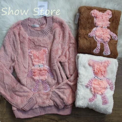 blusa feminina de frio bordada com pedrarias instagram 2581