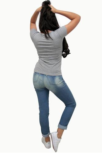 blusa feminina de tecido t-shirts estampa foco, força e fé