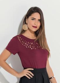 b2abc85113 Blusa Decote Peito - Blusas para Feminino no Mercado Livre Brasil