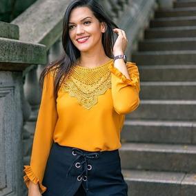 cb501f8c51 Linda Blusa Preta Afghan Detalhe Brilhoso Dourado Rosê - Calçados ...