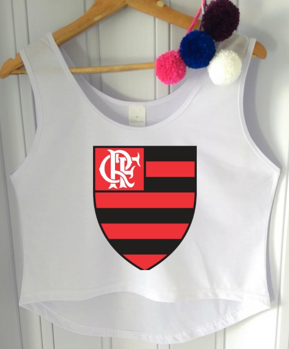 b98bb5580 Blusa Feminina Flamengo Vibe Cropped P