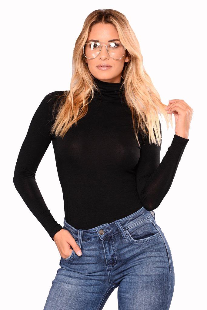 8101726fe6 blusa feminina gola alta malha viscolycra manga longa curta. Carregando  zoom.