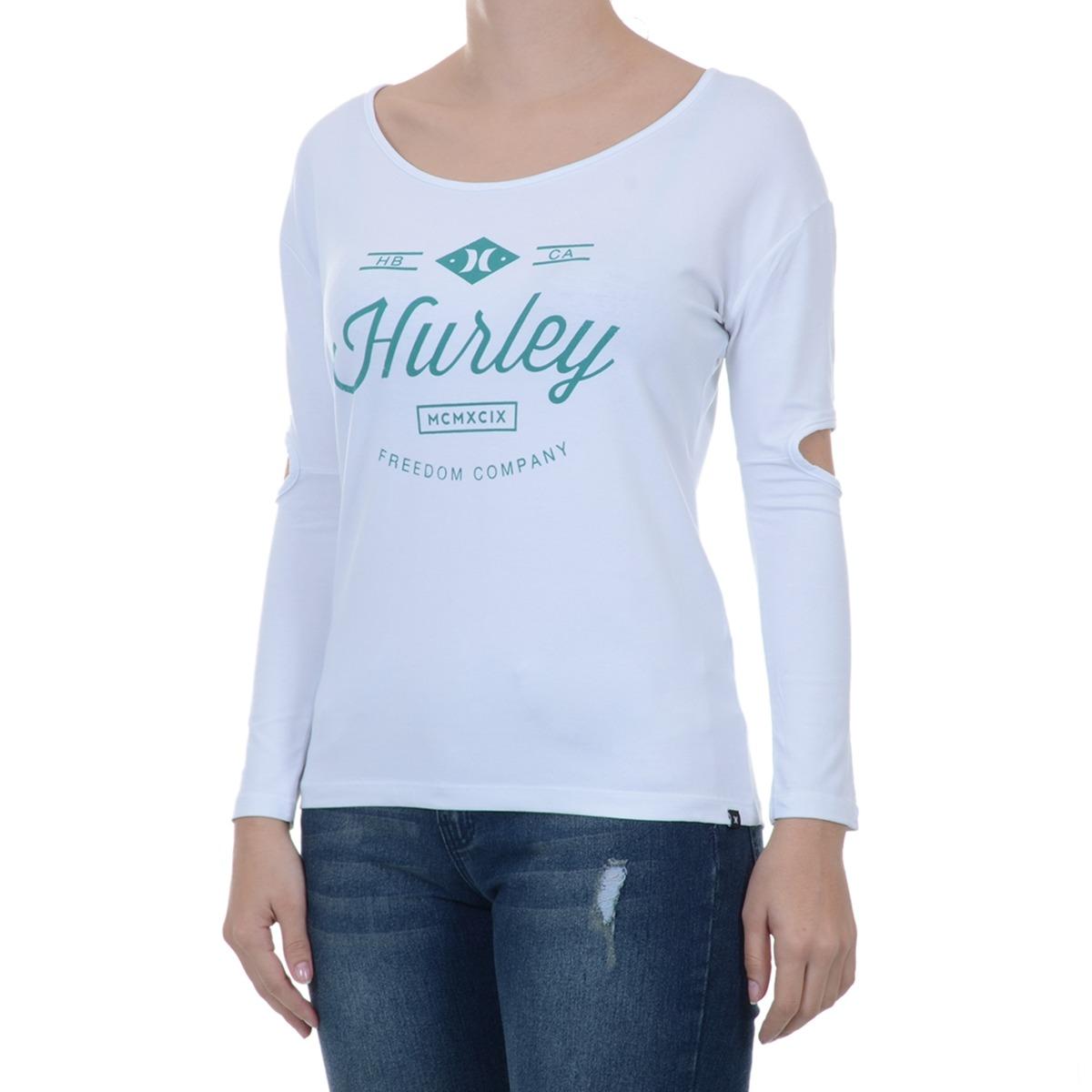 blusa feminina hurley freedom. Carregando zoom. cedc6baf637