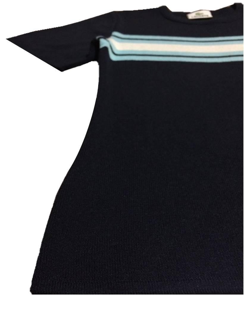 63c7007b1943a blusa feminina lacoste p 38 azul nova importada original. Carregando zoom.