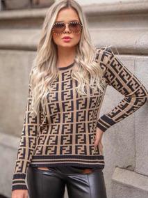 9e75fbb9cb Blusa Tricot Feminina - Calçados
