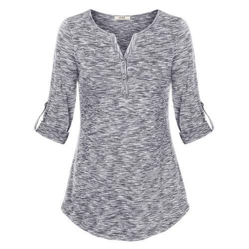 blusa feminina manga longa ou 3/4 listras pronta entrega