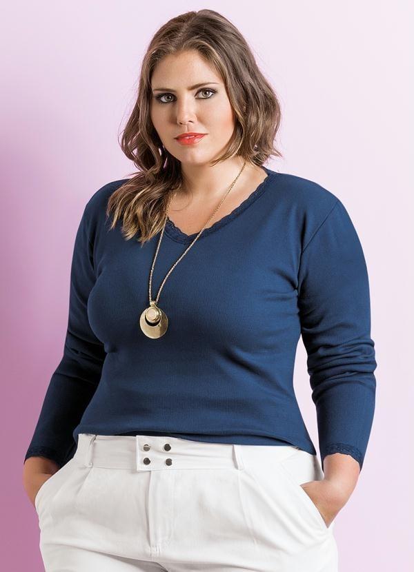 f5daab422b blusa feminina manga longa plus size tamanho extra grande. Carregando zoom.
