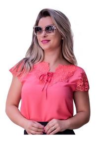 c0de8d67404d Blusas Femininas Curta em São Paulo com o Melhores Preços no Mercado Livre  Brasil