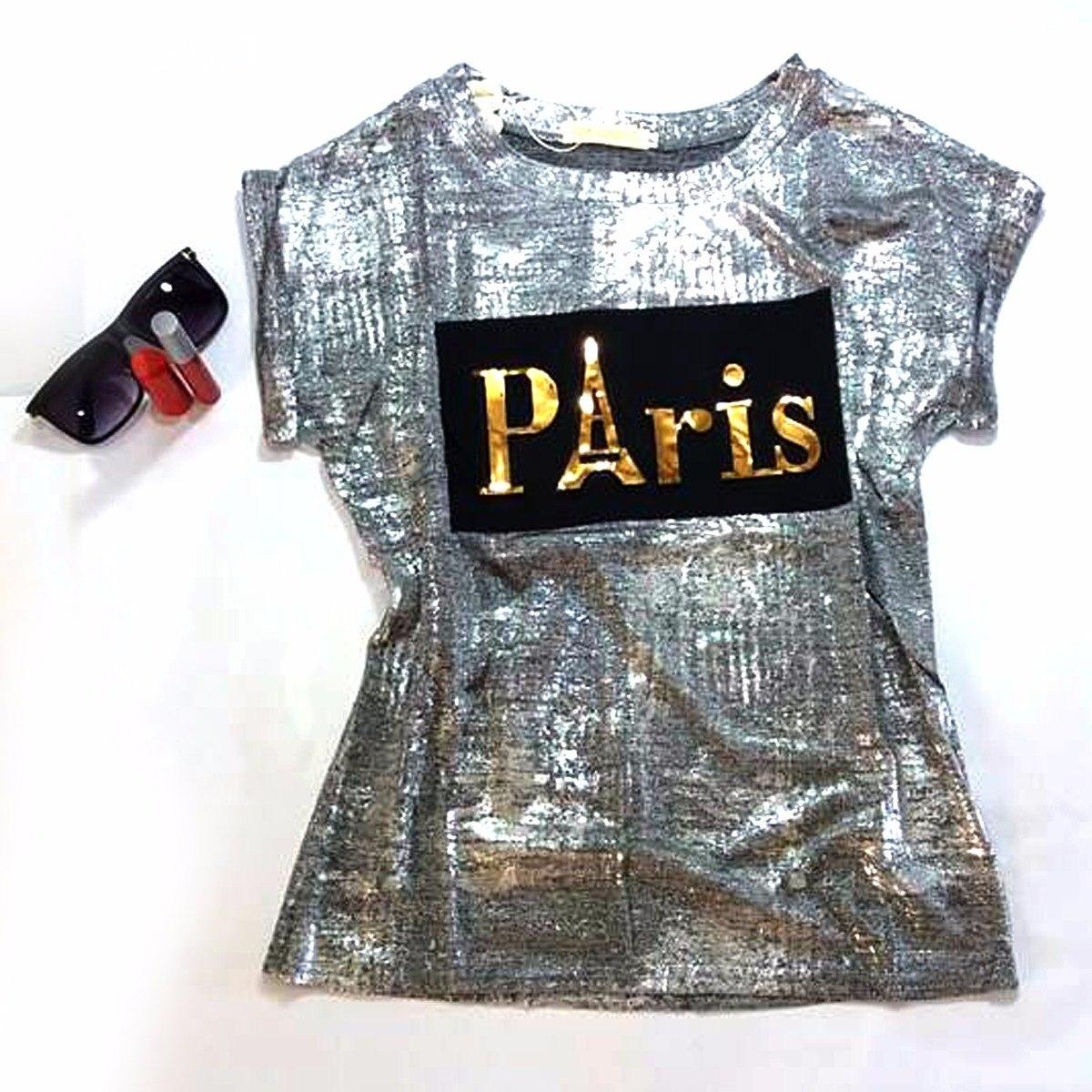 bc1b2d052 blusa feminina paris moda instagram blogueira tendência 2017. Carregando  zoom.