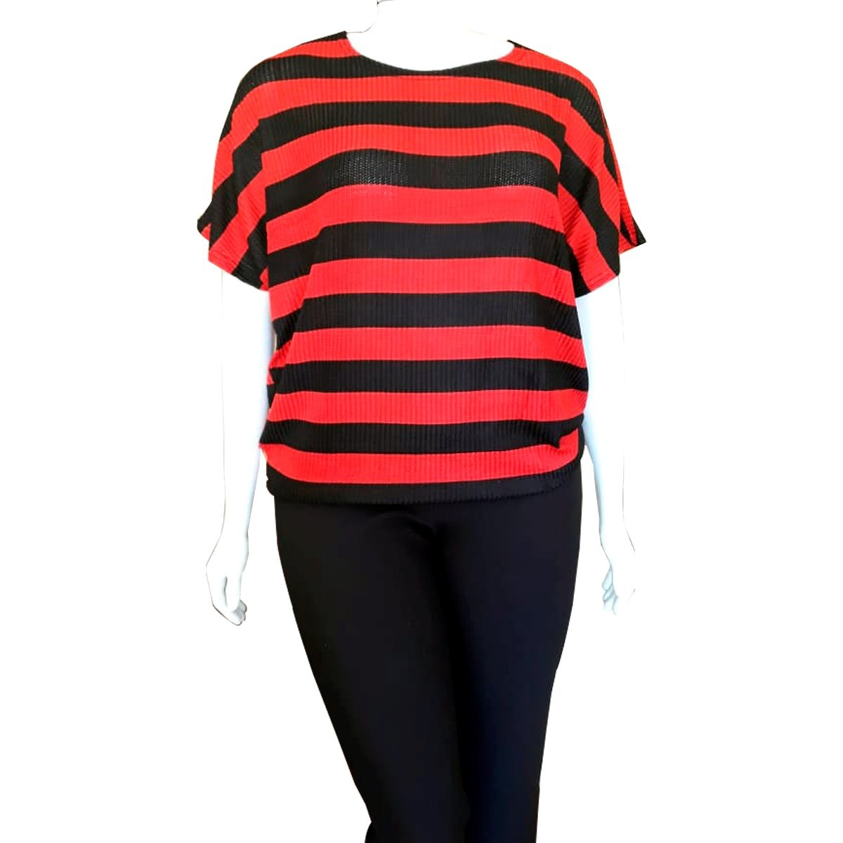 21c14ec574df22 Blusa Feminina Plus Size Tamanho Grande Malha Fria Gordinha