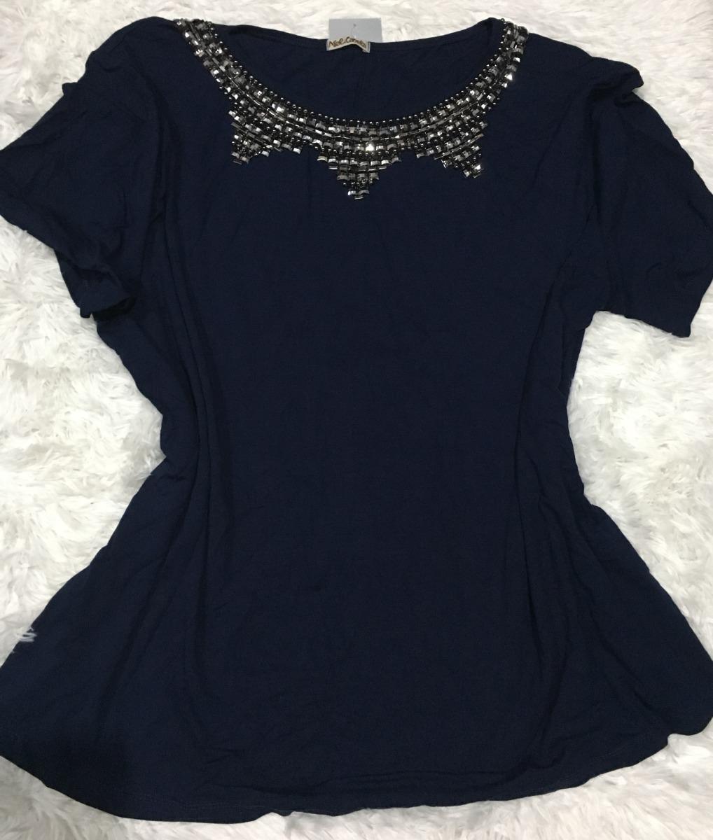f63284b460 blusa feminina plusize malha verão roupas femininas bordada. Carregando  zoom.