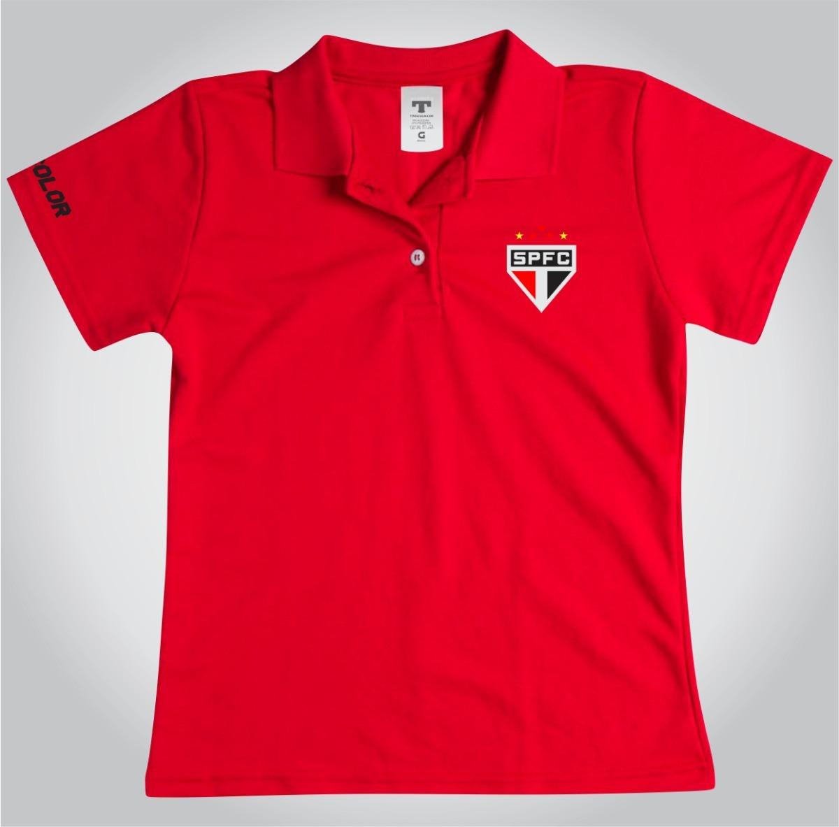 camisa são pau o i 2018 s n torcedor adidas feminina branco verme ho ... 50fd8128a1f66
