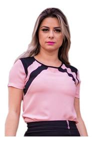 12fc63e7985f Modelos De Blusas De Crepe Sem Mangas Feminino - Blusas com o Melhores  Preços no Mercado Livre Brasil