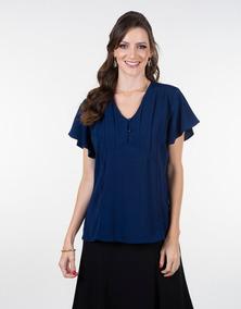 b6193103c Blusa Feminina Tecido Viscose - Blusas Feminino no Mercado Livre Brasil