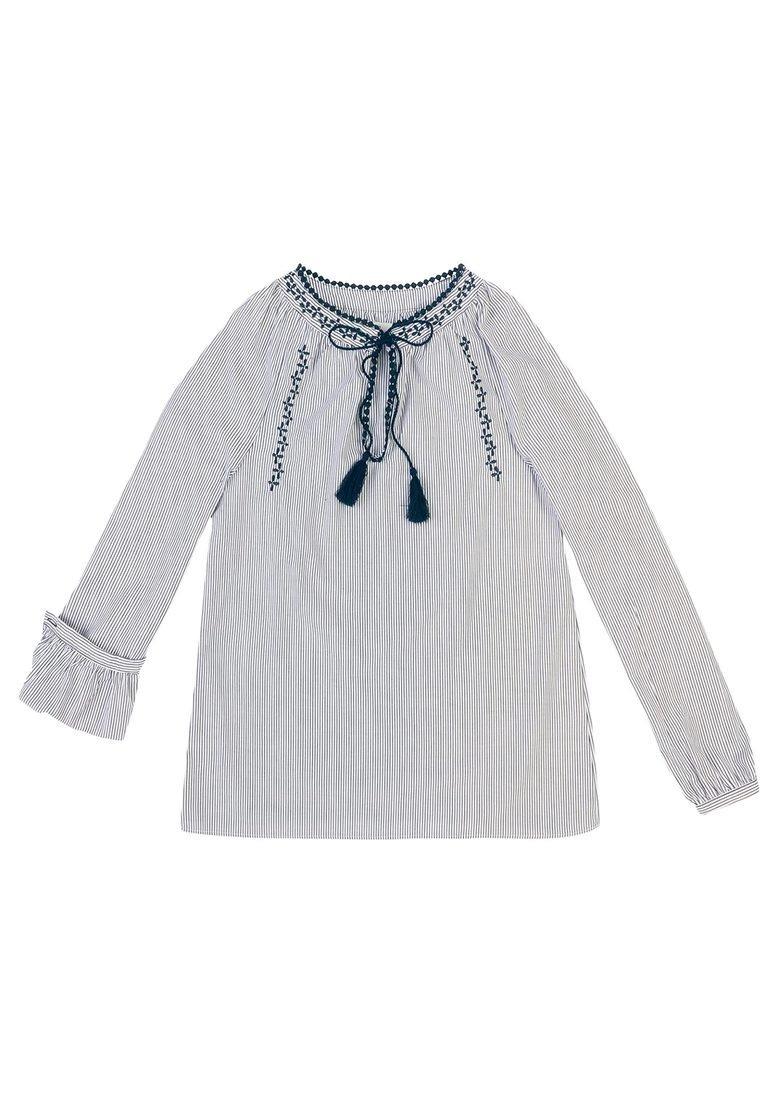 3692553332 blusa feminina tecido fio tinto algodão com bordado hering. Carregando zoom.