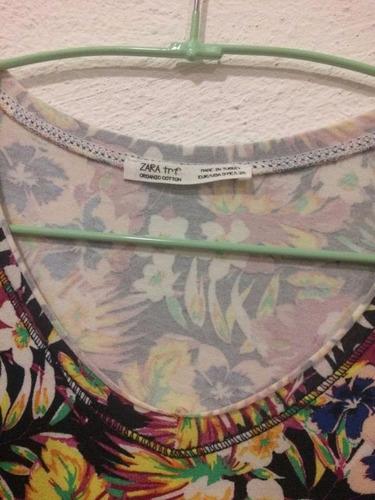 blusa floreada zara (envio gratis)