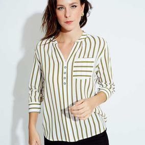 6ce83ee9c Blusa Formal Yaeli Fashion 1352 Blanco - 820701