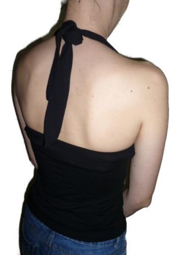 blusa frente unica com bojo drapeada no busto em cores &