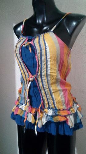 blusa fresca arcoiris talla ch sussie